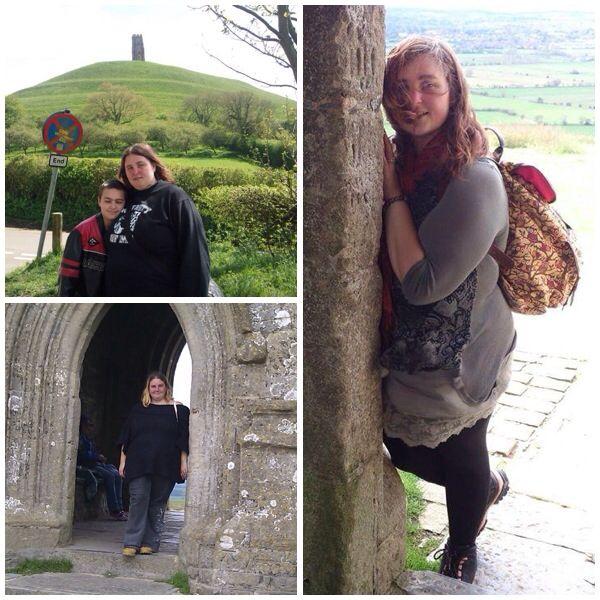 Three pics taken at Glastonbury, but at three different dates