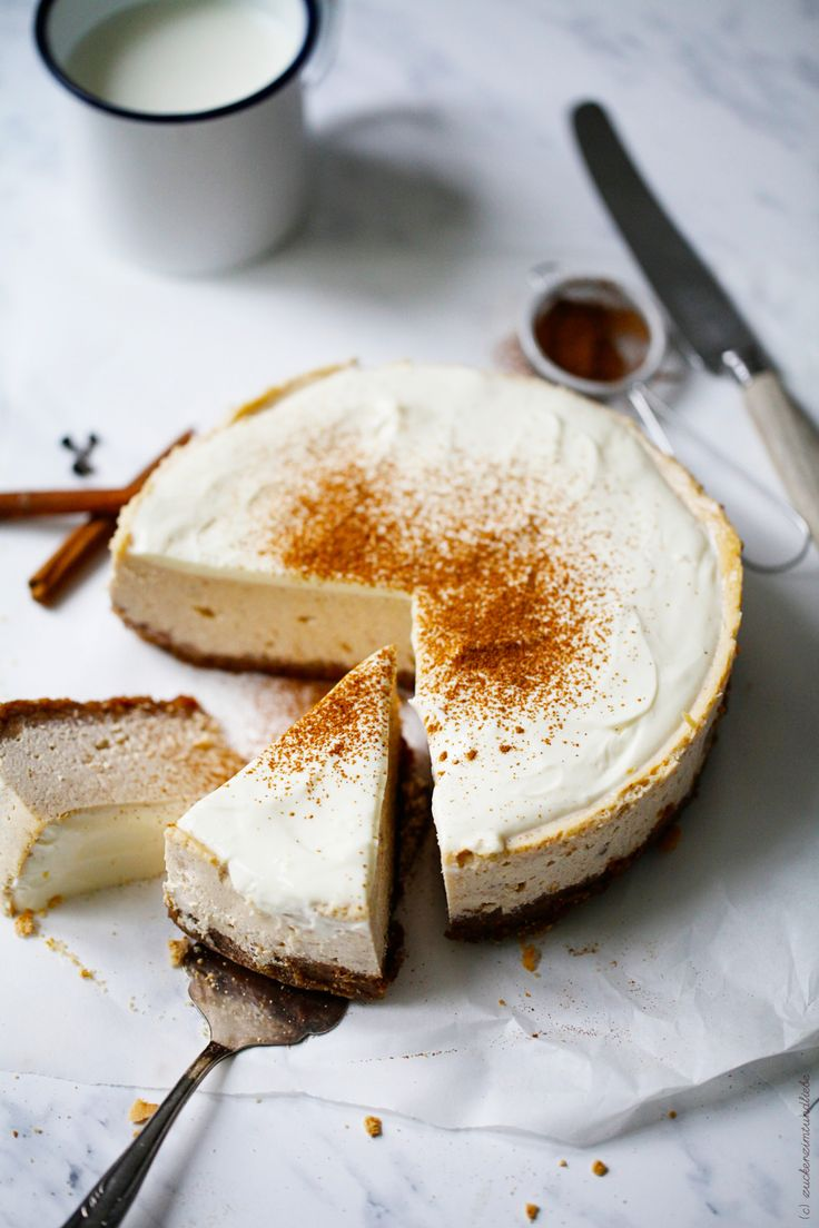 New York Chai Cheesecake: