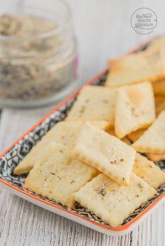 Cracker-Grundrezept mit nur 3 Zutaten