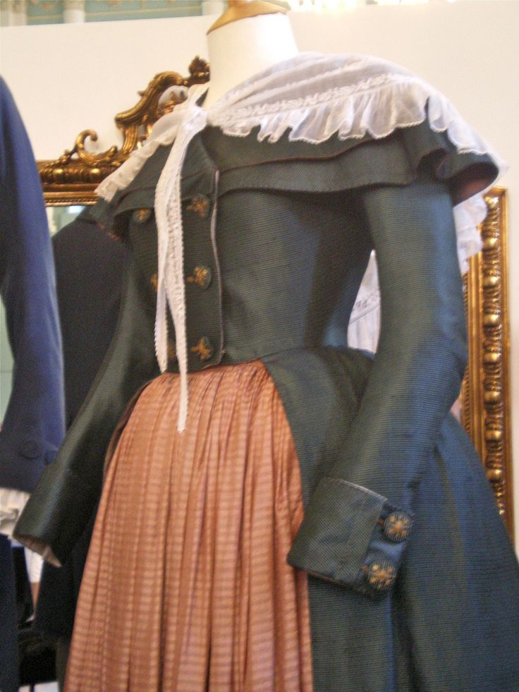 Redingote worn by Keira Knightly as Georgiana, and costume worn by Dominic Cooper as Charles Grey (2)
