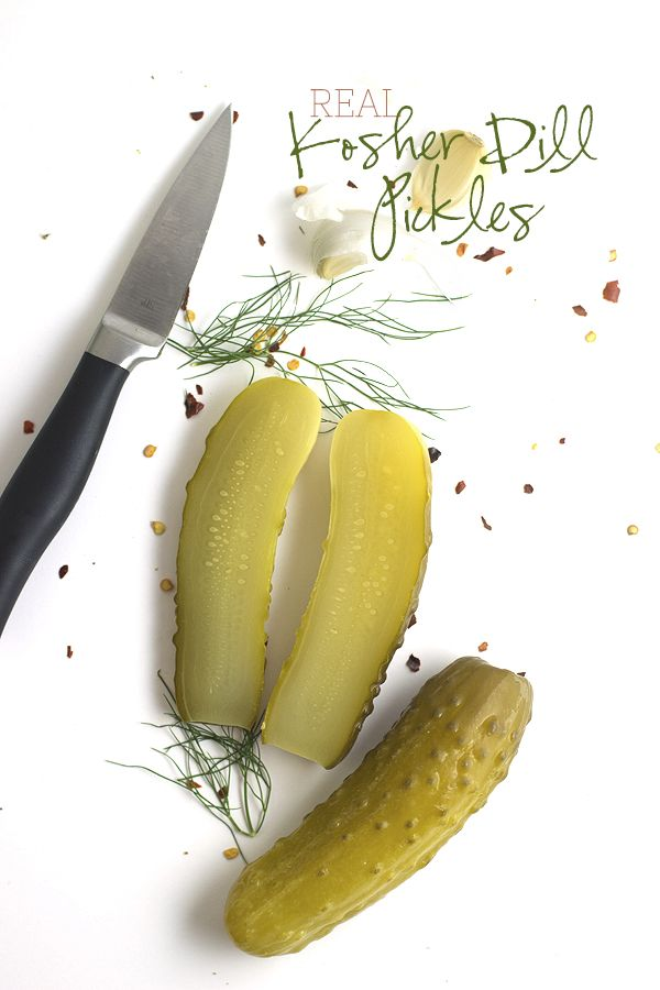 How To Make Traditional Kosher Dill Pickles (this version uses no whey ...