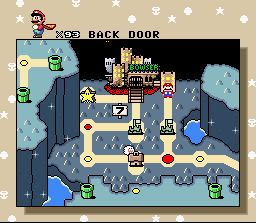 Super mario world - zoomed out example