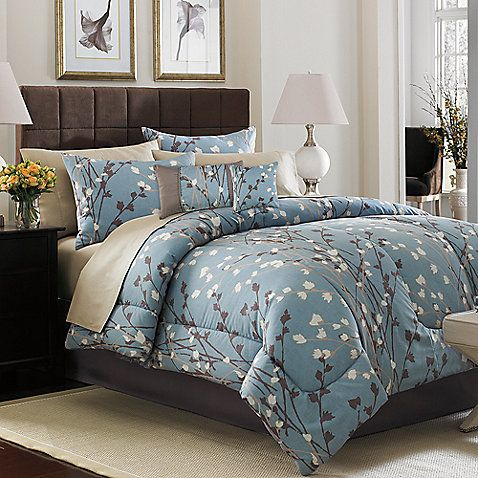 Risa Complete Bed Ensemble - I found it at Bed Bath & Beyond - Master bedroom Ideas.