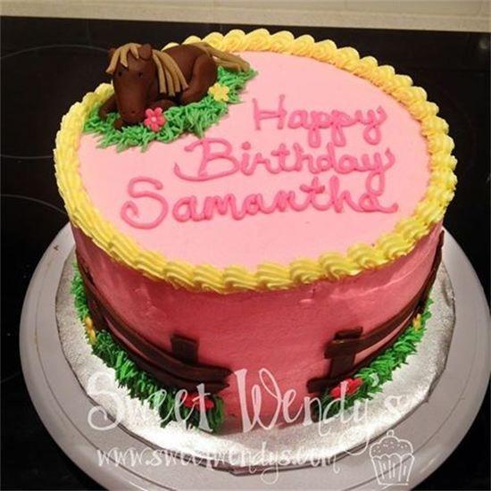 47 best Cakes Horses images on Pinterest Horse cake Birthday