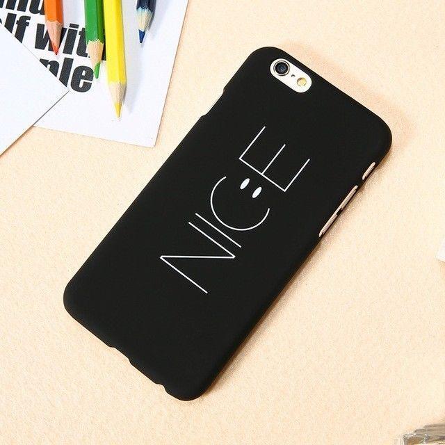 NICE Smiling Face Phone Case For iPhone 6/6s+, 6/6s Plus, 7/8, 7 Plus #UnbrandedGeneric