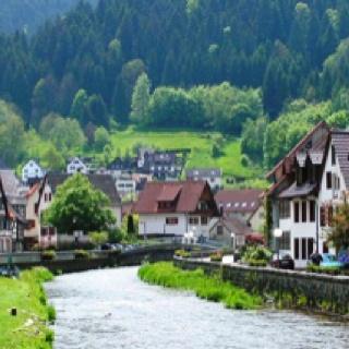 Schiltach Village, Black Forest Germany
