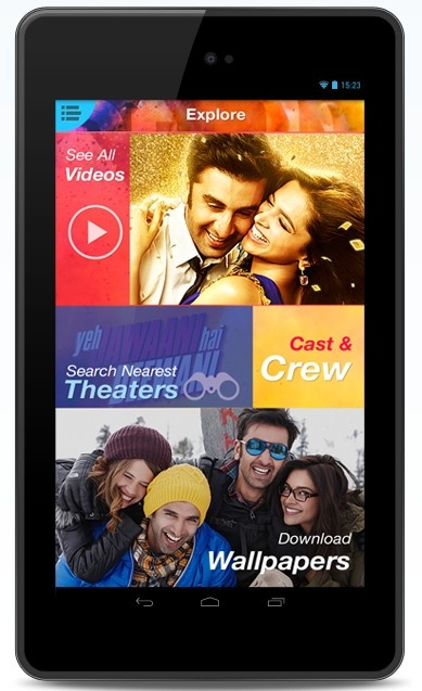 Download YJHD app for latest news, video and much more about YJHD ........  Also you can book ur tickets for YJHD Really superb app to download.