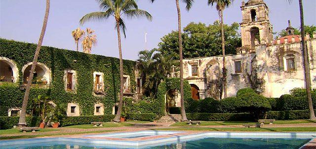 Parque Acuático Ex Hacienda de Temixco.
