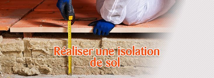 186 best images about les conseils de technitoit on pinterest tvs home ren - Isolation des sols sur terre plein ...