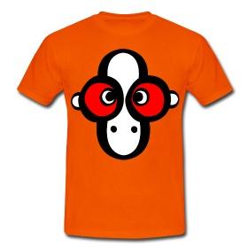 Monkey Bot Geek T shirt by Paul Stickland on SpreadShirt #strangestore #spreadshirt