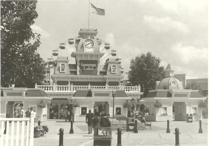 4. Geauga Lake Amusement Park entrance: date unknown