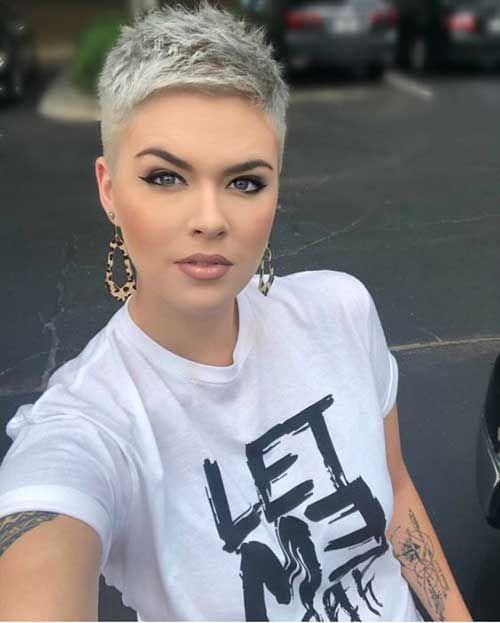 Nouvelles tendances de coiffure courte pour les femmes