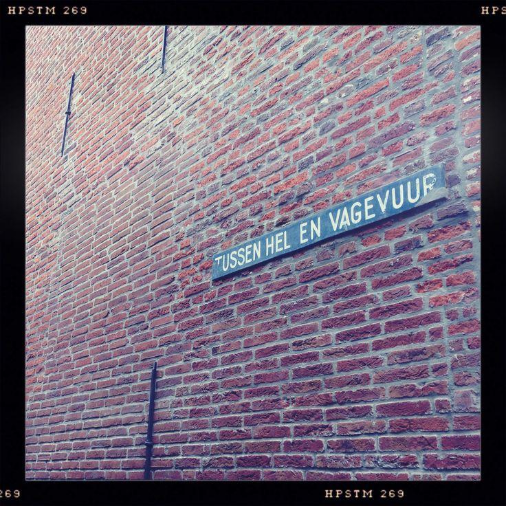Een van de mooiste straatnamen van Enkhuizen.