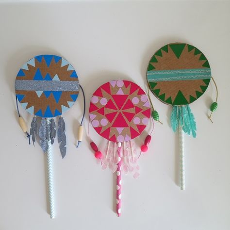 DIY Indian Spirit, le tambourin