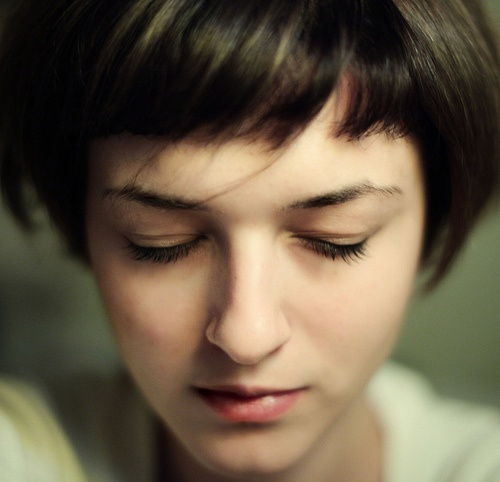 Peachy 1000 Images About Very Short Bobs On Pinterest Blunt Bangs Short Hairstyles Gunalazisus