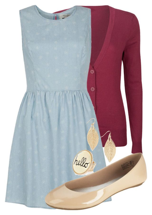 """""""Teacher Outfits on a Teacher's Budget 108"""" by allij28 ❤ liked on Polyvore featuring Full Tilt, River Island, women's clothing, women, female, woman, misses and juniors"""
