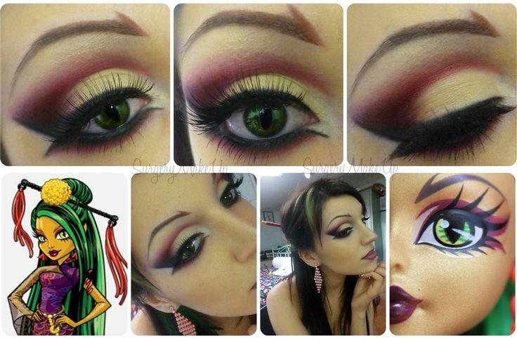 jinafire long makeup   Il makeup che ho realizzato è tratto in parte dal cartone e in parte ...
