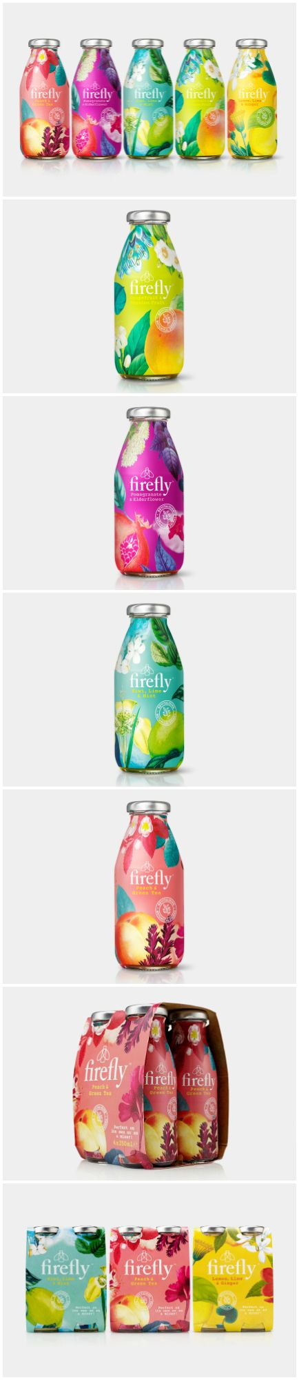 B&B Studio Delivers Botanical-Led Rebrand for Firefly Core Range Design Agency: B&B studio Brand / Project Name: Firefly Location: United Kingdom Market Country: Multiple Countries Category: #Beverages #Drinks  World Brand & Packaging Design Society