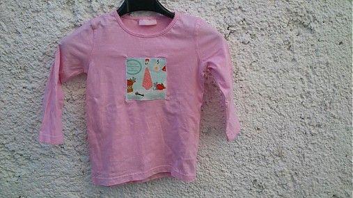 KajDom / Ružové tričko s myškami