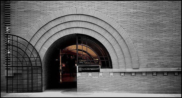 FRANK LLOYD WRIGHT • 1948 Xanadu Gallery in San Francisco
