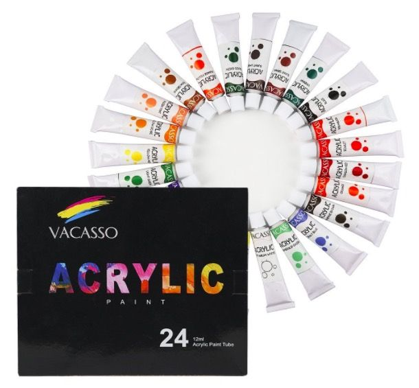 7838 best freebies deals steals images on pinterest birth get this 24 count set of non toxic acrylic paints for just 979 fandeluxe Choice Image