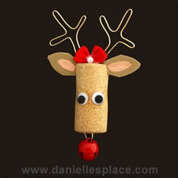 wine cork crafts | Dump A Day christmas craft ideas, wine bottle corks - Dump A Day