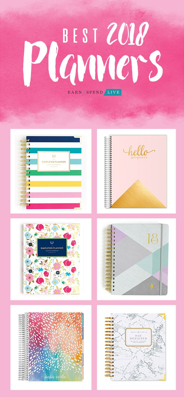 I need a 2018 planner