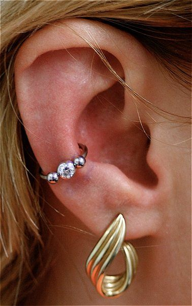 I'm going to get my conch pierced.
