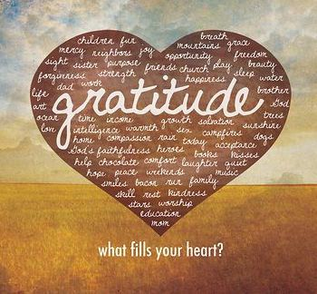 Do you ever wake up in the morning and for no reason whatsoever feel your heart filled withlight,with love and with gratitude? The kind of inexplicable joy that doesn't come from anyTHING or anyO...