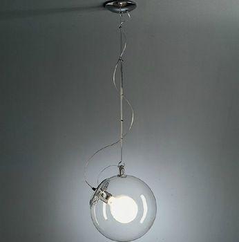 Новый современный отрегулировать диаметр 25 см мыльный пузырь Подвесной светильник итальянском стиле Стеклянные подвесные светильники