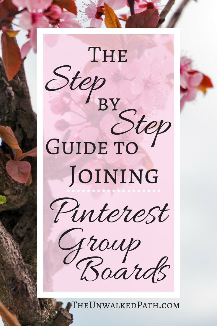 The Step by Step guide to Joining Pinterest Group Boards. Where to find them, E-Mail request template
