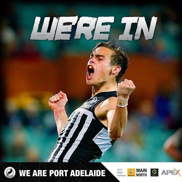 Port Adelaide in the SANFL GF.