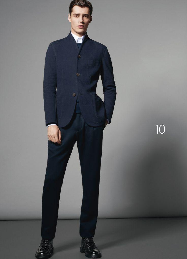 Giorgio Armani Fall/Winter 2015 Delivers Sharp Essential ...