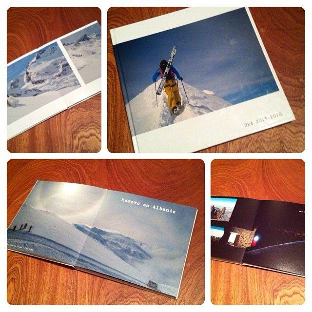 Un Livre Photo pour se rappeler les bons souvenirs des vacances au ski #photobook #livrephoto #smartphoto