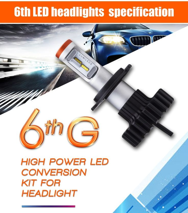 Super bright LED headlight H13 high low beam 6th led headlight 24V headlamp for car if you want it ,contact us Whatsapp:  +8613925028526