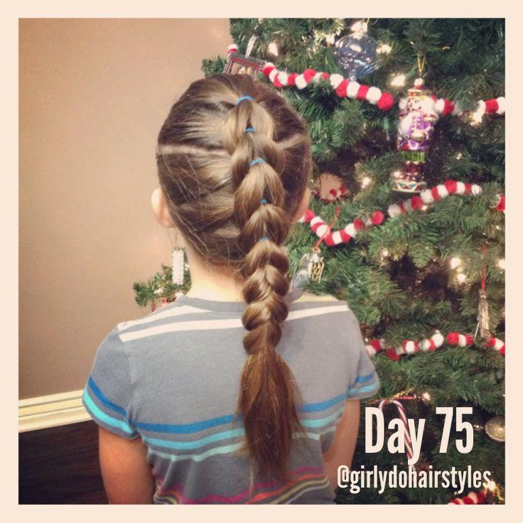 Girly Do Hairstyles: By Jenn: Week 17 {#GirlyDos100DaysofHair}