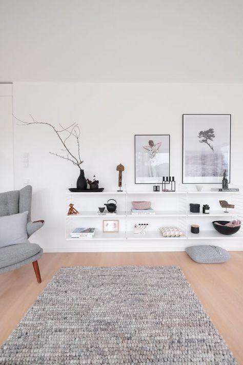 Die besten 25+ Ikea teppich Ideen auf Pinterest schwarz weiß - wohnzimmer teppich schwarz weis