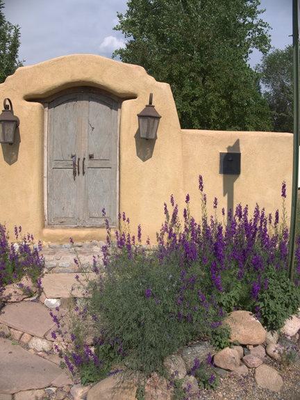 Santa Fe Garden Tour Door By Peter Weiss