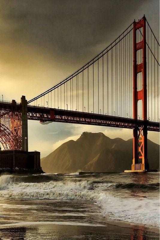 Golden Bridge #sanfrancisco #sf #bayarea #alwayssf #goldengatebridge #goldengate #alcatraz #california