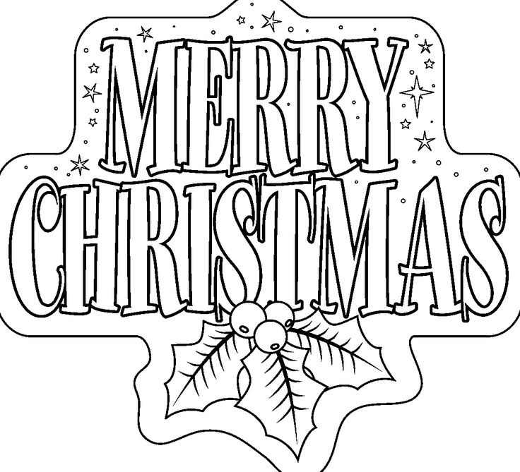 Best 25 Merry Christmas Coloring Pages Ideas On Pinterest Merry Coloring Pages