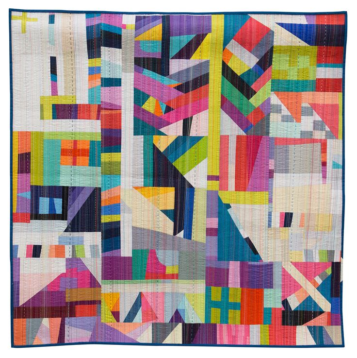 The Rabbit Hole by Nydia Kehnle, 2014 | The Modern Quilt Guild