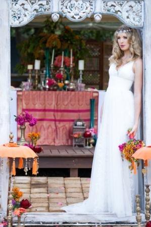 Moroccan Inspired Wedding at Teavine House, Tallebudgera.