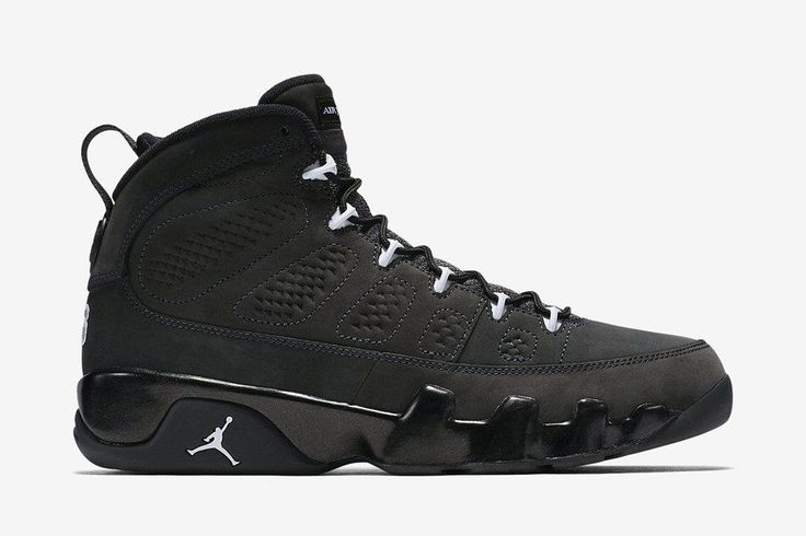 "Air Jordan 9 Retro ""Anthracite"" (Detailed Pics & Release Date)"