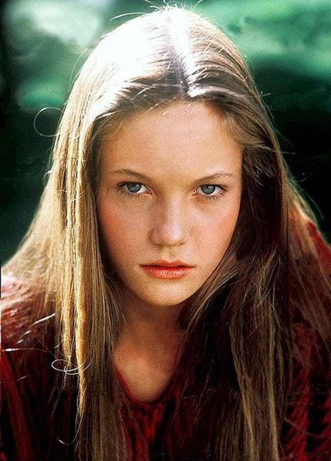Young Diane Lane in Red Sweate... is listed (or ranked) 1 on the list 20 Pictures of Young Diane Lane