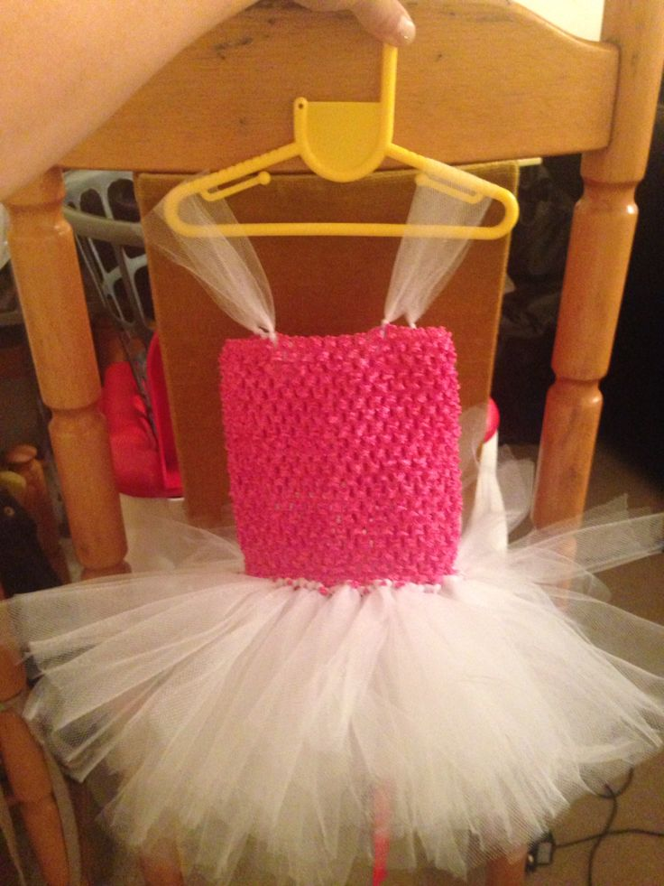2 layer no sew tutu dress