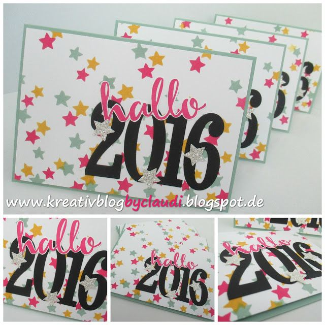 Kreativ Blog by Claudi: Hallo 2016