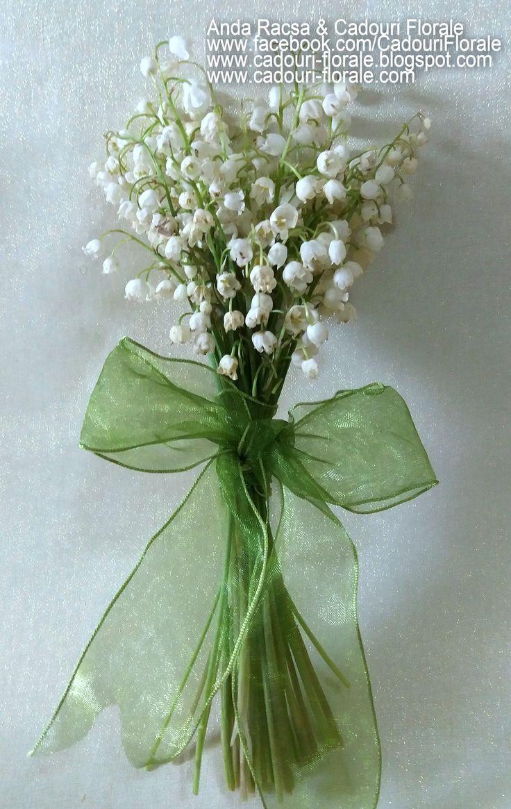 Buchet de lacramioare! www.cadouri-florale.com, cadouri.florale@gmail.com