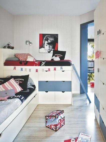 habitación infantil para dos niños