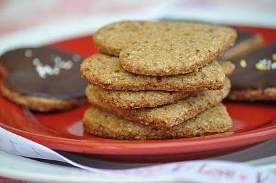 The Whole Life Nutrition Kitchen: Oatmeal Heart Cookies (gluten-free + vegan)