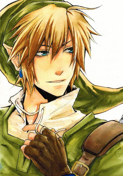 Golden Link | Hero of Hyrule by Laovaan